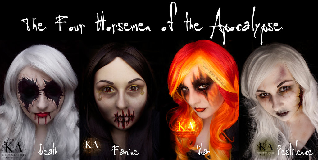 Four Horsemen Of The Apocalypse coloring #7, Download drawings