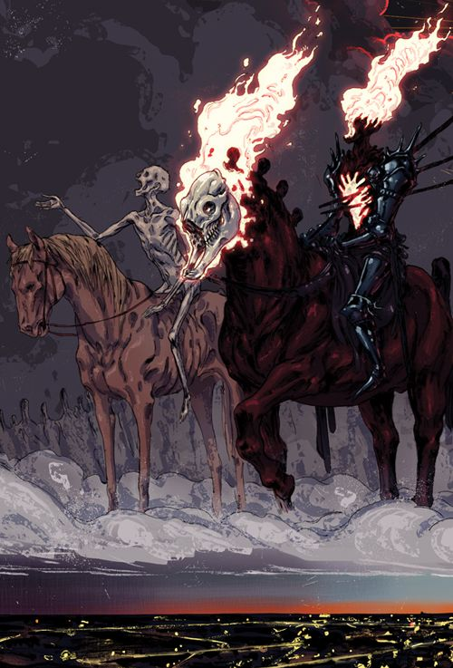 Four Horsemen Of The Apocalypse svg #14, Download drawings