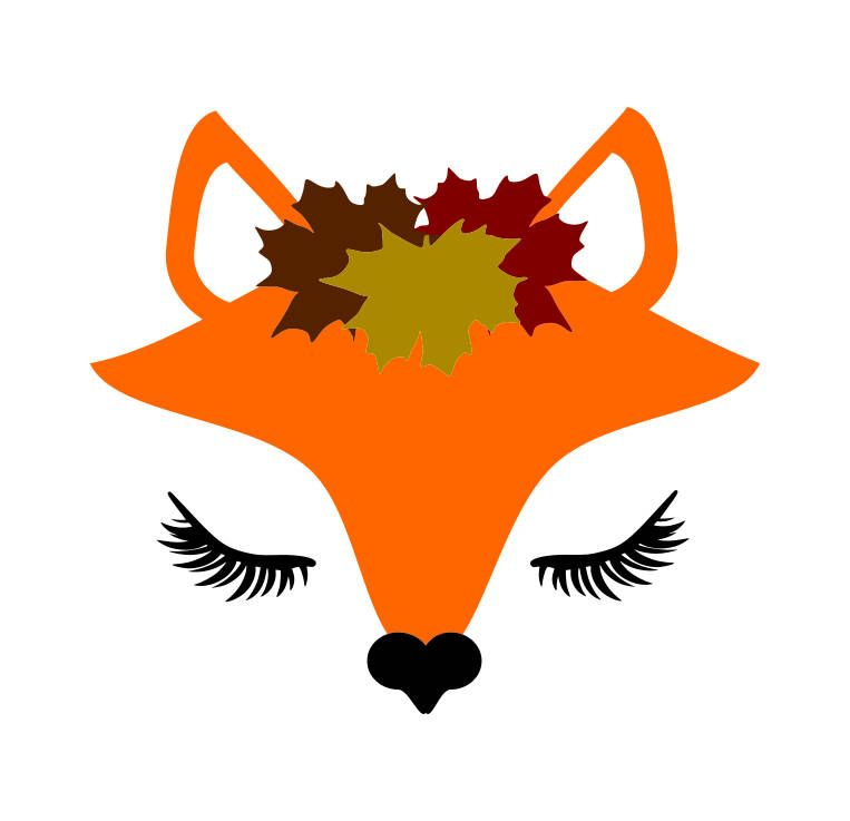 fox face svg #858, Download drawings