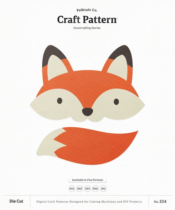 fox face svg #865, Download drawings