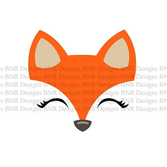 fox face svg #859, Download drawings