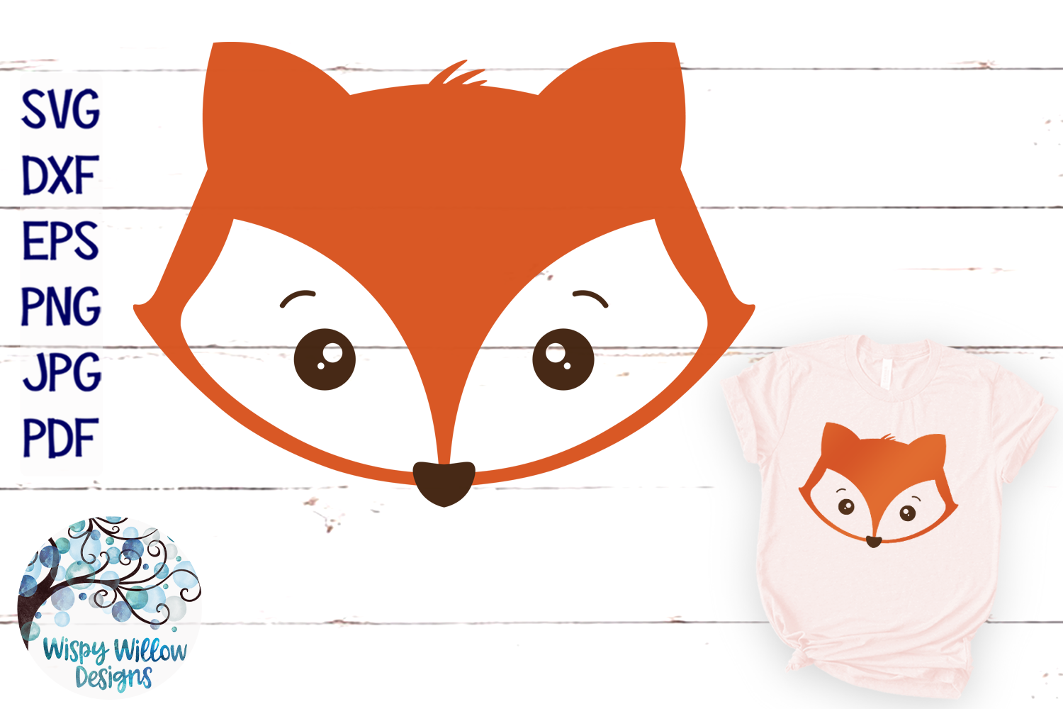 fox face svg #866, Download drawings