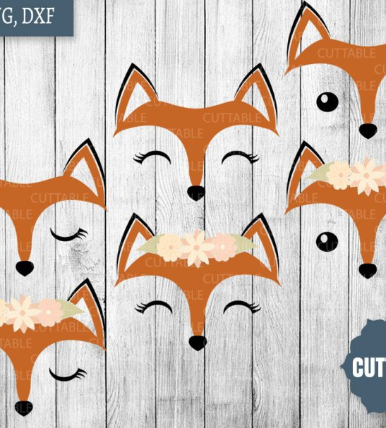 fox face svg #873, Download drawings