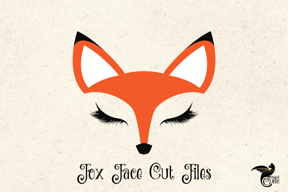 fox face svg #861, Download drawings