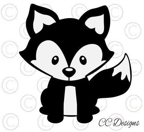 Fox svg #11, Download drawings