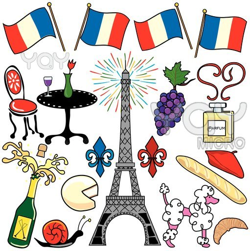 French clipart #8, Download drawings