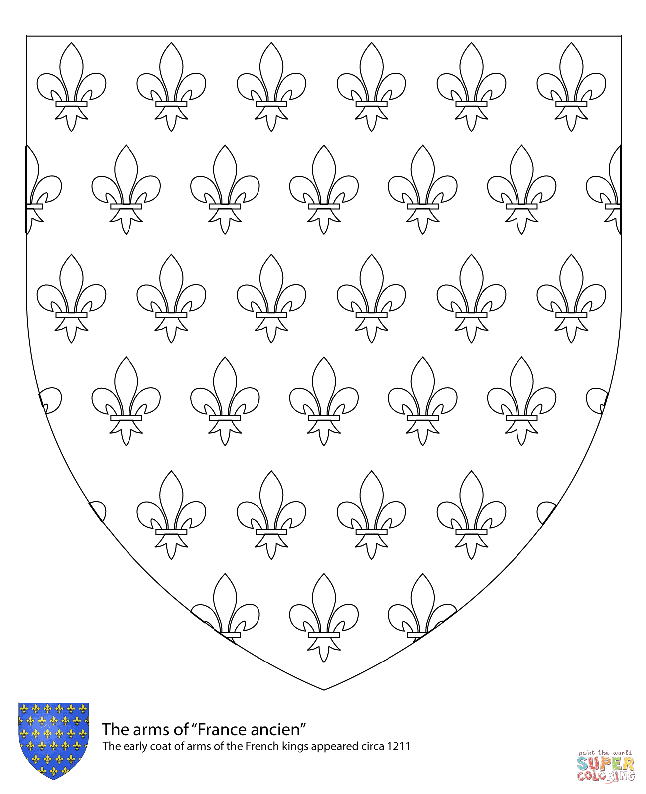 France coloring #6, Download drawings