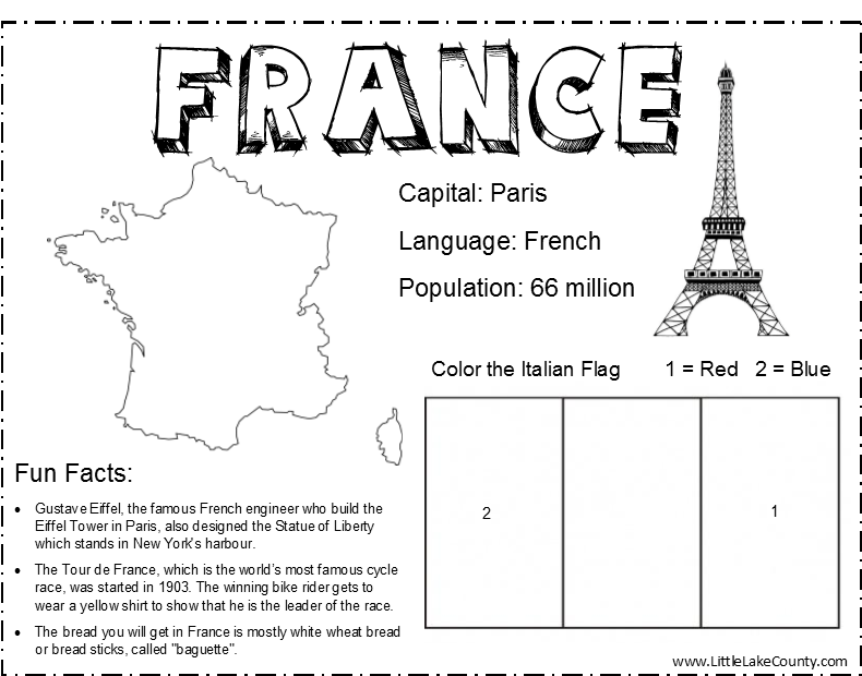 France coloring #11, Download drawings