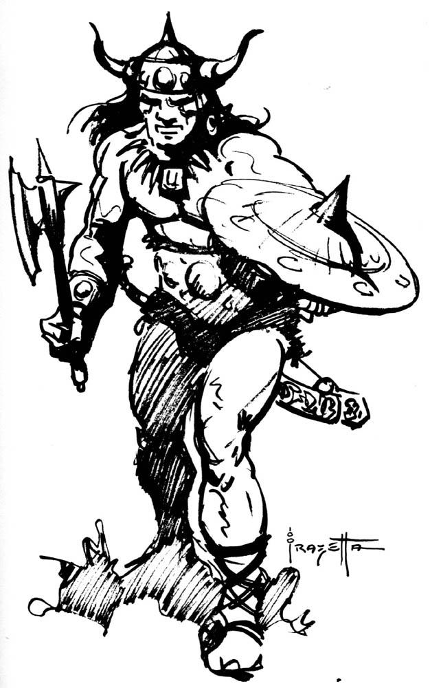 Frank Frazetta clipart #3, Download drawings