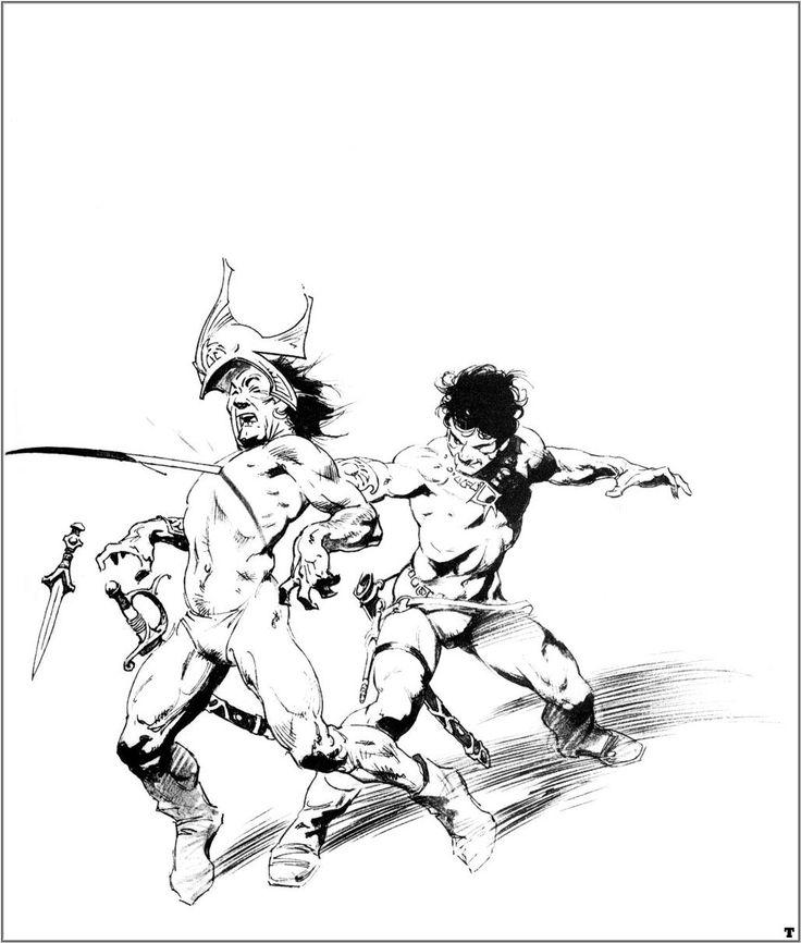 Frank Frazetta clipart #11, Download drawings