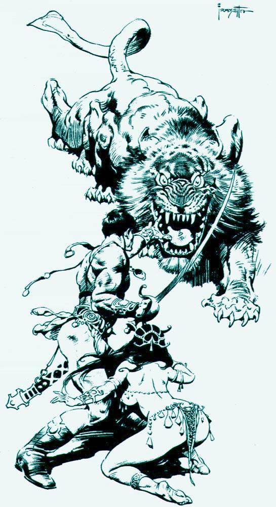 Frank Frazetta clipart #1, Download drawings