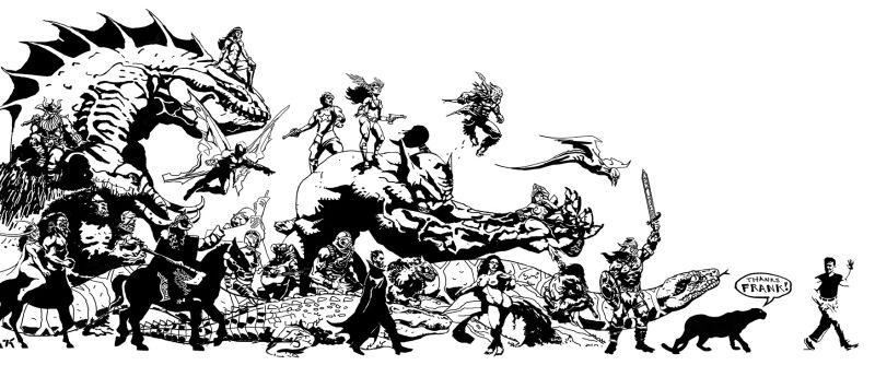 Frank Frazetta clipart #15, Download drawings