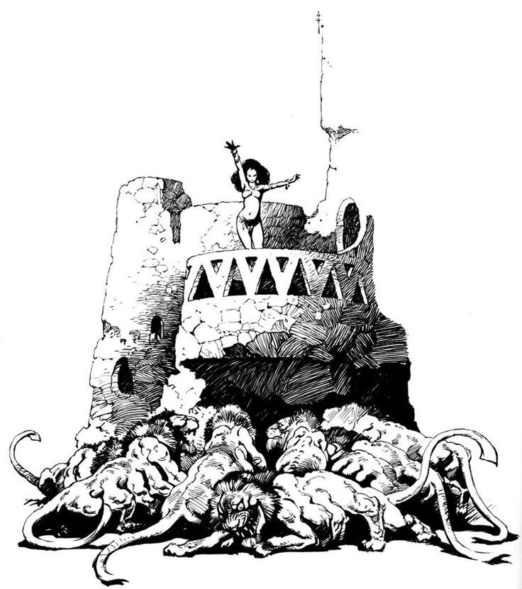Frank Frazetta clipart #16, Download drawings