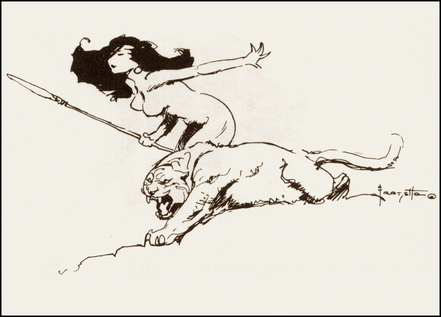 Frank Frazetta coloring #9, Download drawings