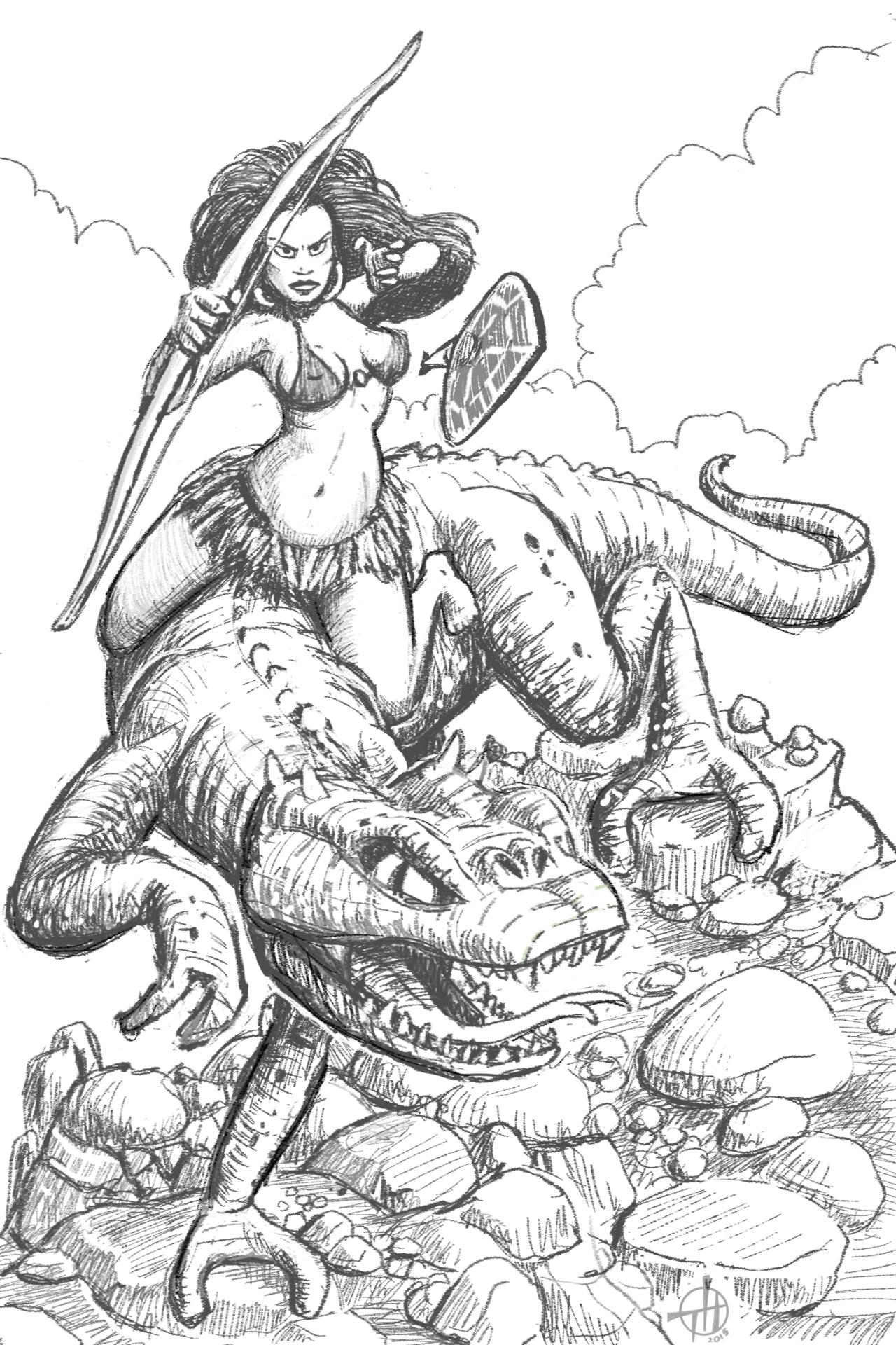 Frank Frazetta coloring #3, Download drawings