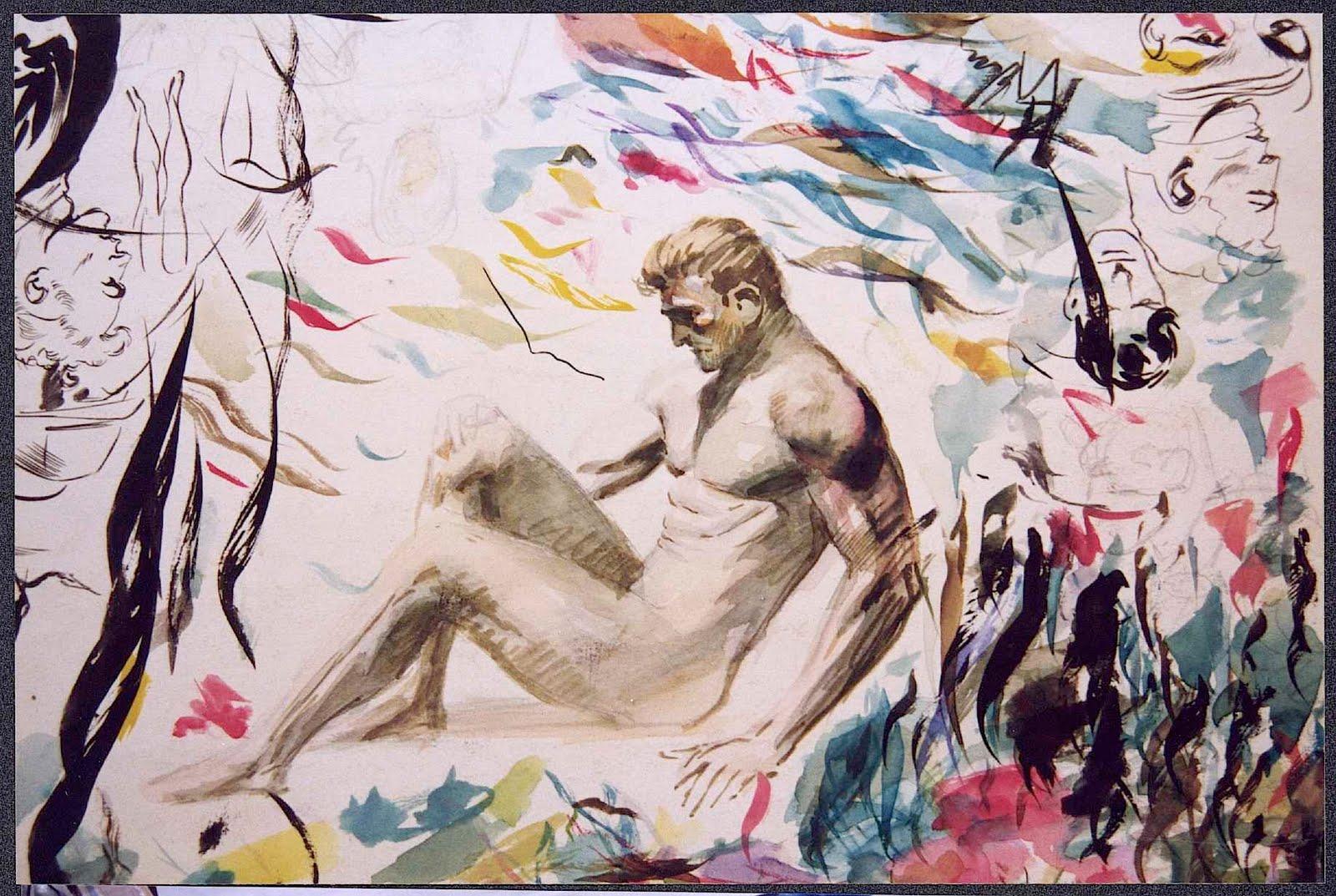 Frank Frazetta coloring #17, Download drawings