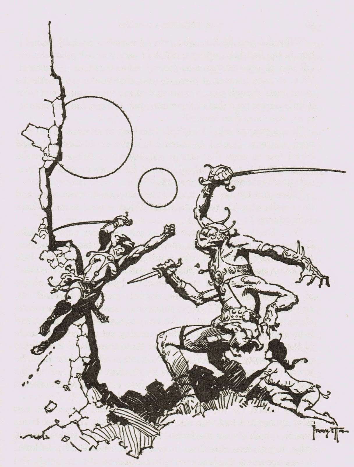 Frank Frazetta coloring #13, Download drawings