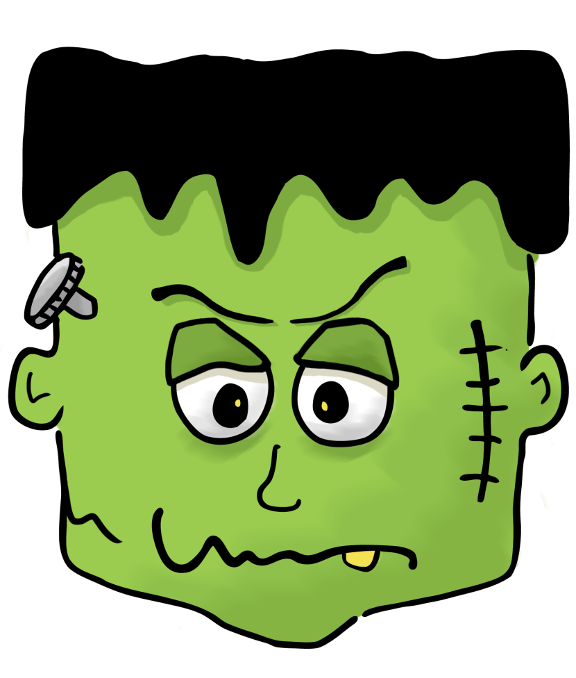 Frankenstein clipart #5, Download drawings