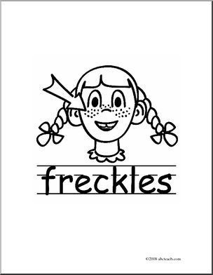 Freckles clipart #4, Download drawings