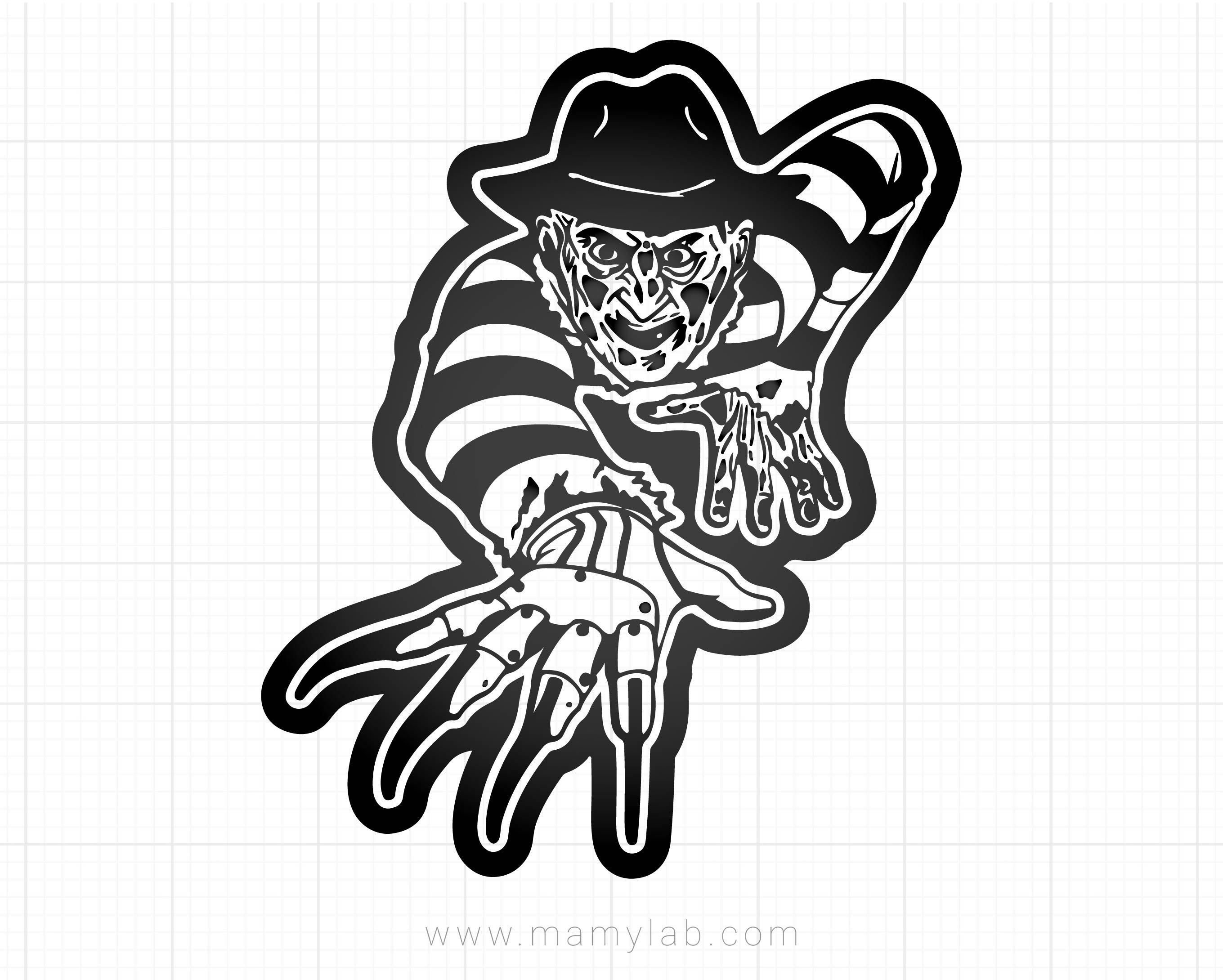 freddy krueger svg #482, Download drawings