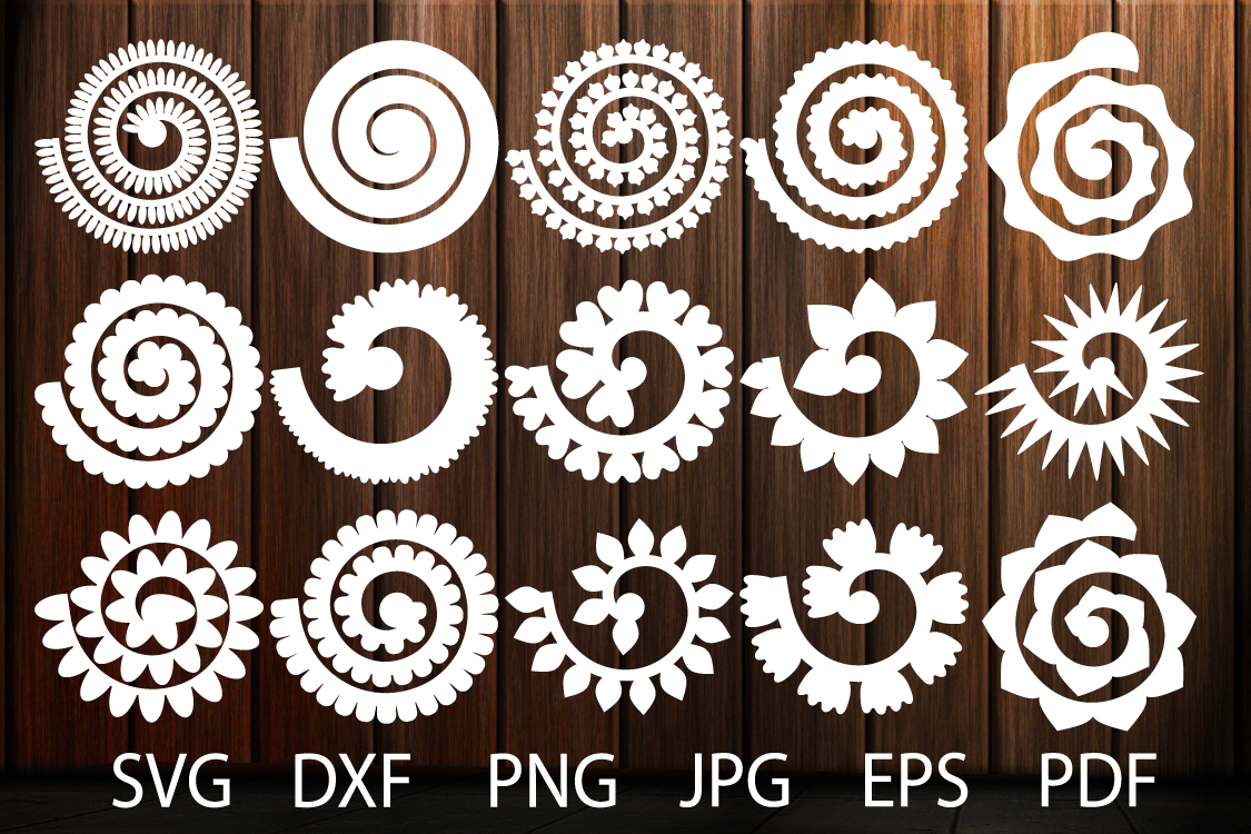 free 3d flower svg #1015, Download drawings