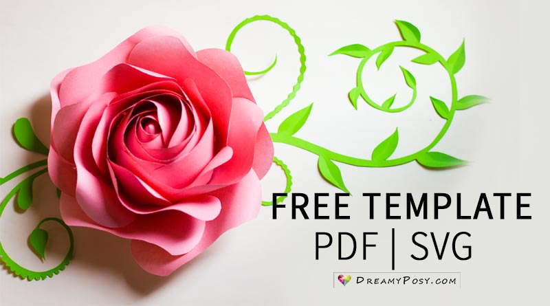 free 3d flower svg #1014, Download drawings