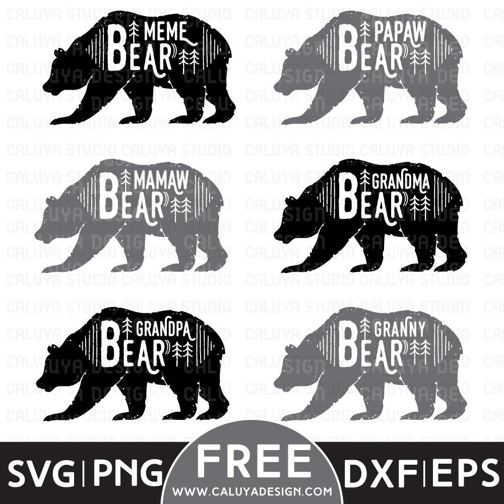 free bear svg #934, Download drawings