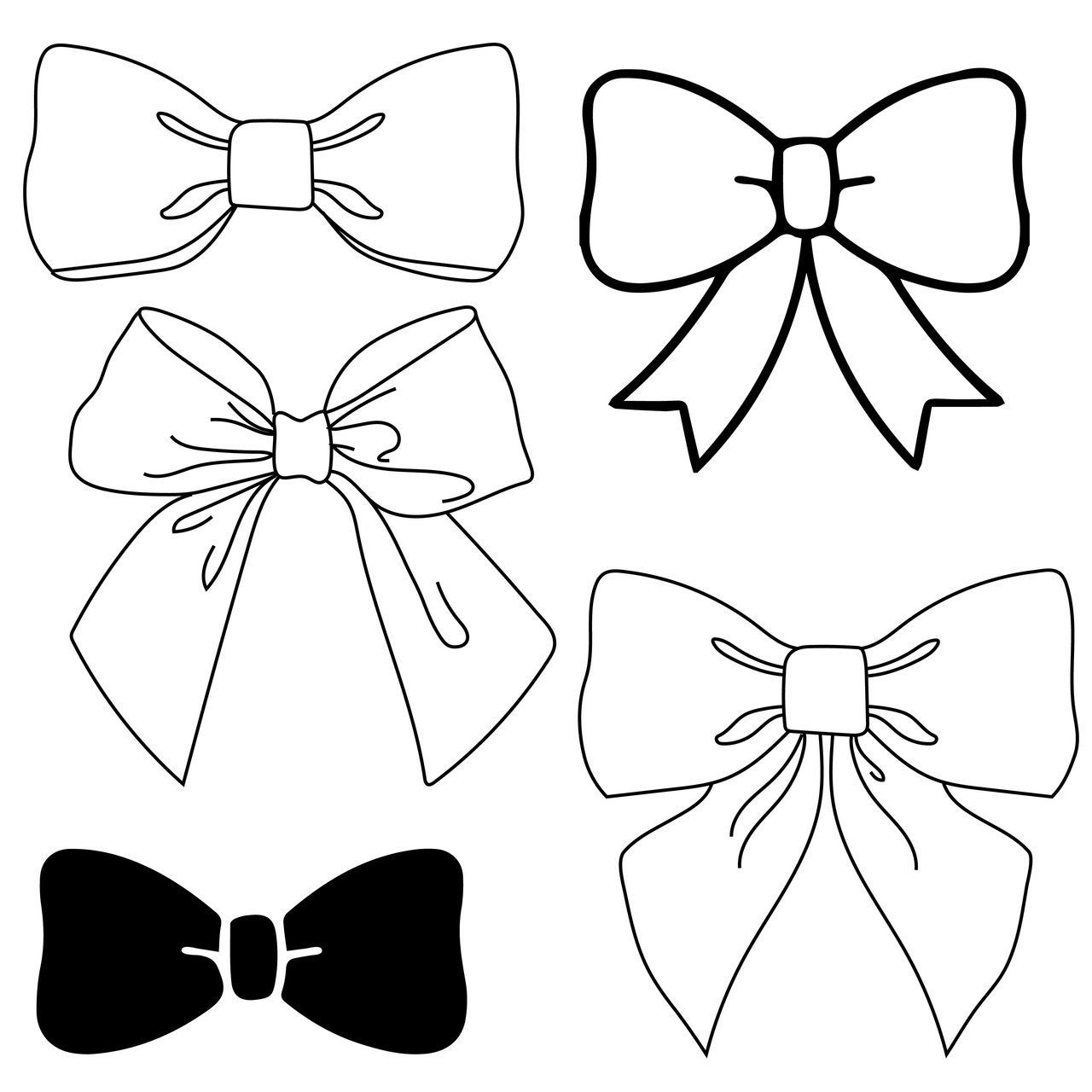 free bow svg #732, Download drawings