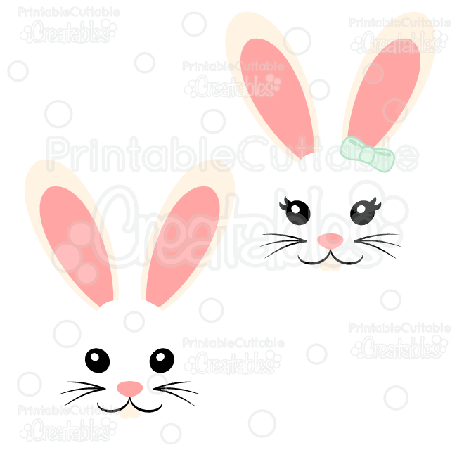 easter bunny svg free #1051, Download drawings