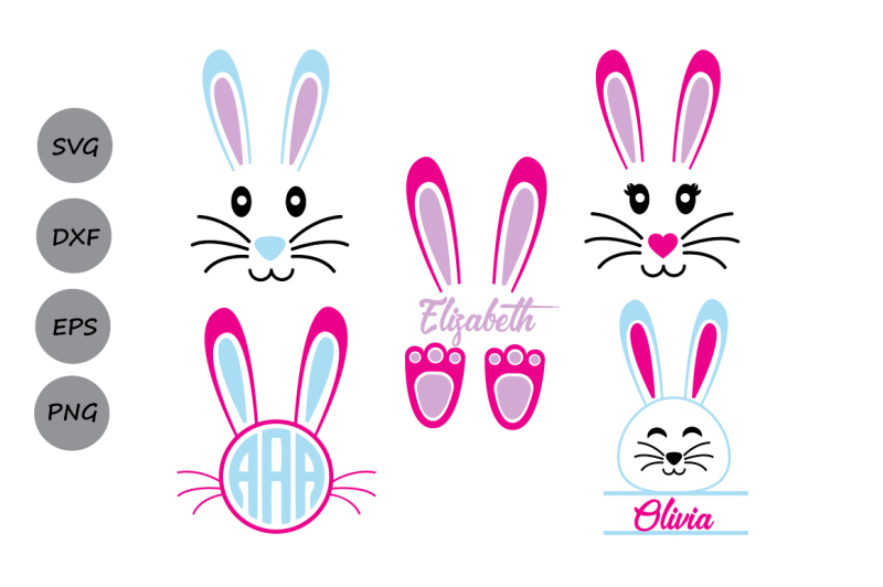 easter bunny svg free #1050, Download drawings