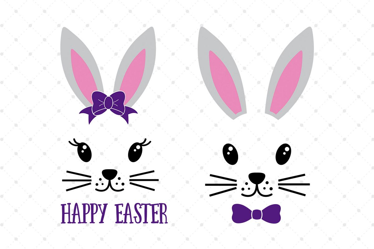easter bunny svg free #1052, Download drawings