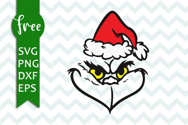 free grinch face svg #1148, Download drawings