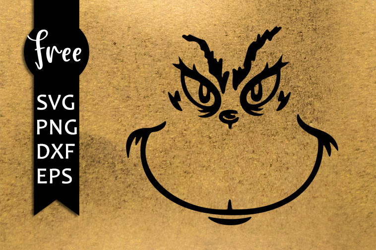 free grinch face svg #1149, Download drawings