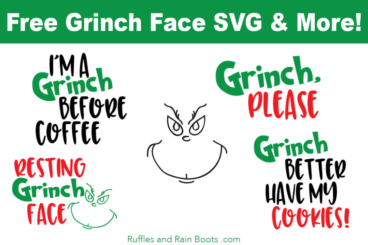 free grinch svg file #1249, Download drawings