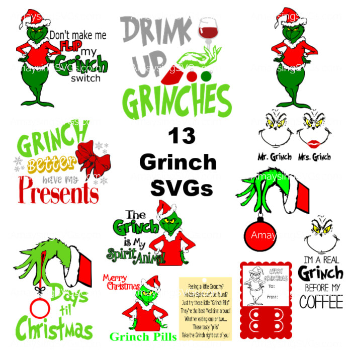 free grinch svg file #1246, Download drawings