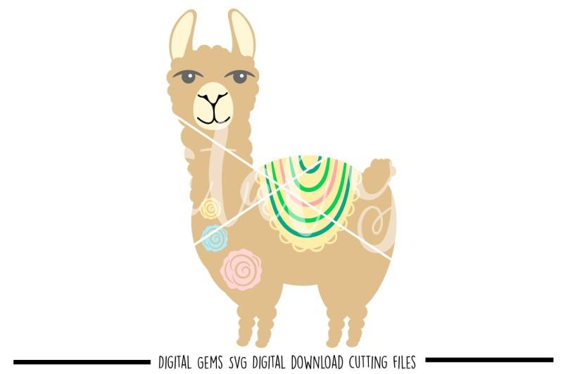 free llama svg
