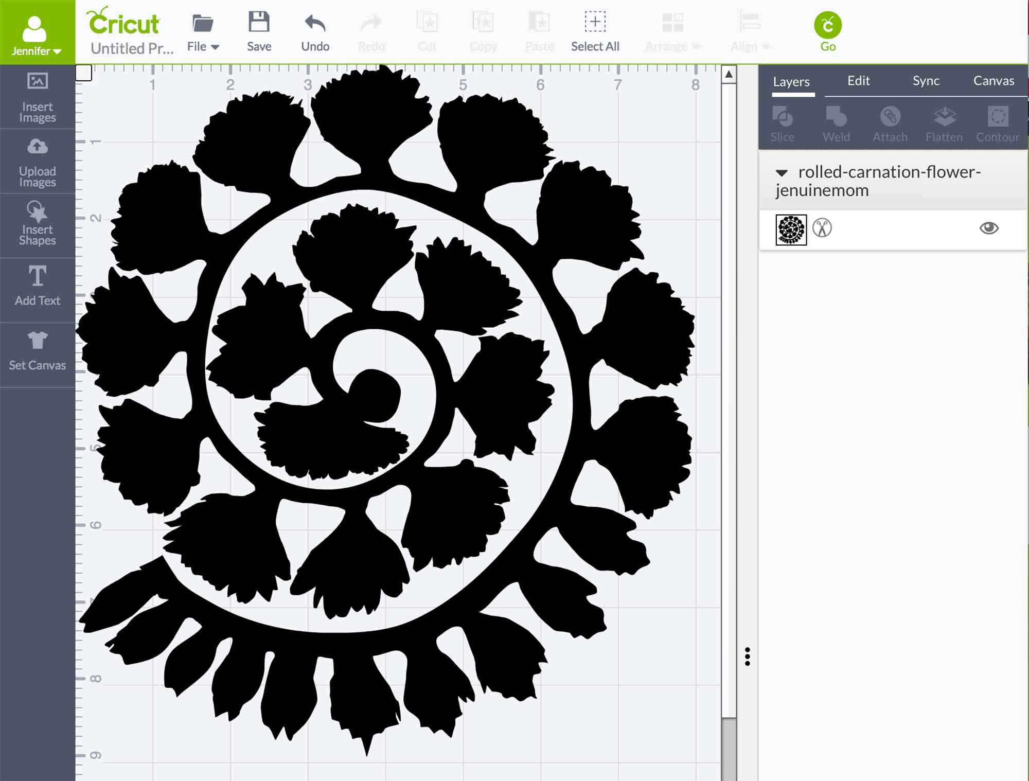 free rolled flower svg #787, Download drawings