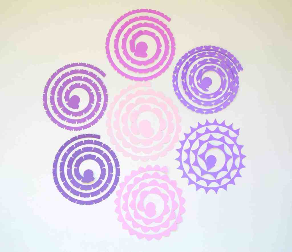 free rolled flower svg #776, Download drawings