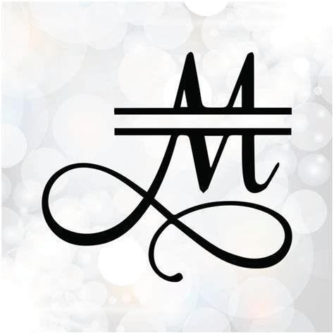 free split monogram svg #721, Download drawings