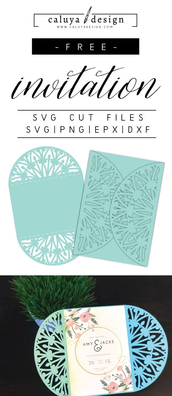 free wedding invitation svg files #652, Download drawings