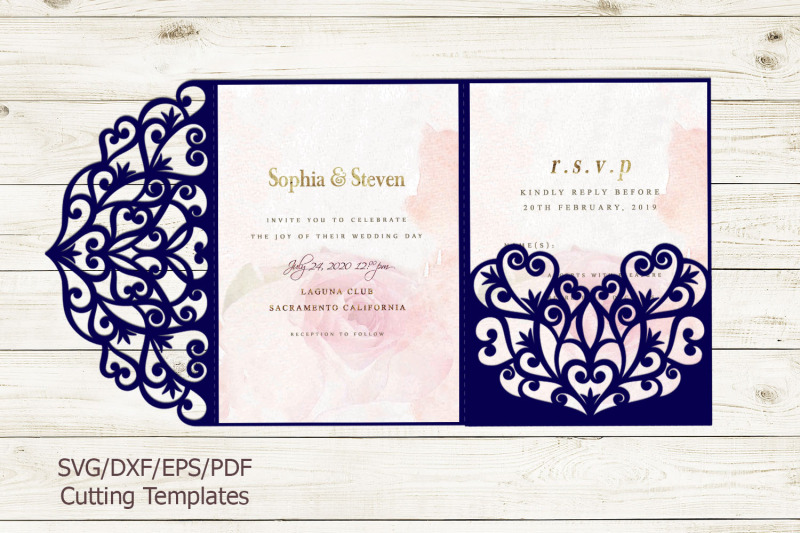 free wedding invitation svg files #644, Download drawings