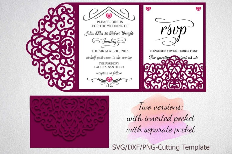 free wedding invitation svg files #649, Download drawings