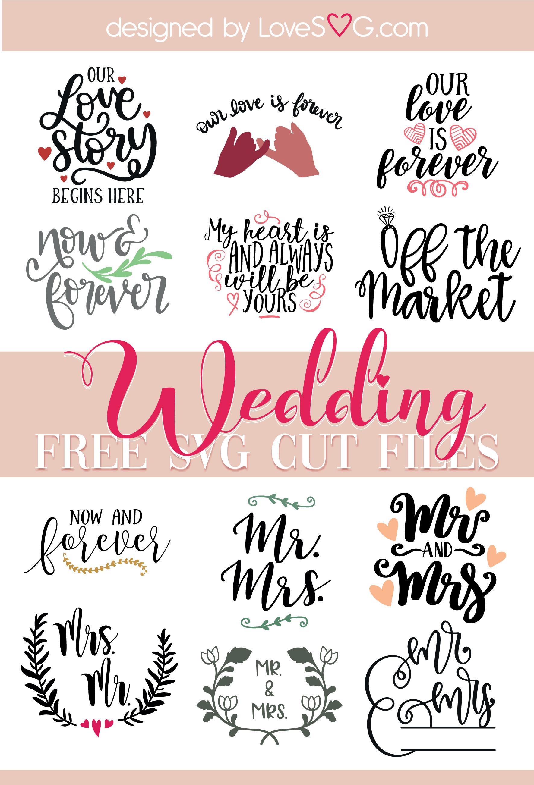 free wedding svg files #304, Download drawings
