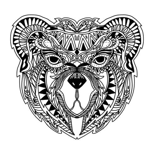free zentangle svg files #119, Download drawings