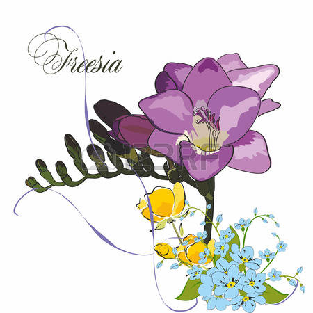 Freesia clipart #6, Download drawings
