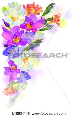 Freesia clipart #9, Download drawings