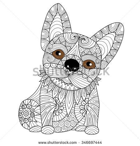 French Bulldog coloring #13, Download drawings