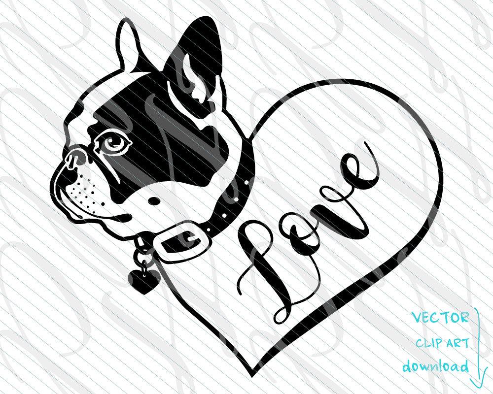 French Bulldog svg #9, Download drawings