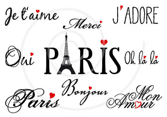 French clipart #3, Download drawings