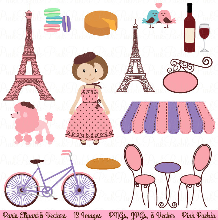 Paris clipart #3, Download drawings